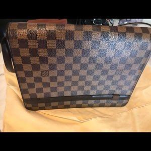 Louis Vuitton cloth Satchel vintage